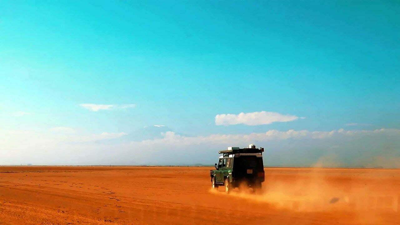 The Nyiri Desert in Southern Kenya - Deserts in Kenya