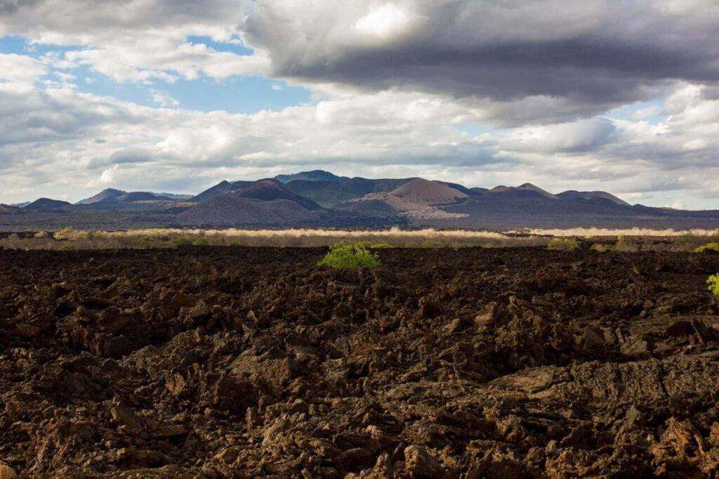 Chyulu Hills, Lava Flow, Shetani Lava, Tsavo West National Park, Volcanic Hills