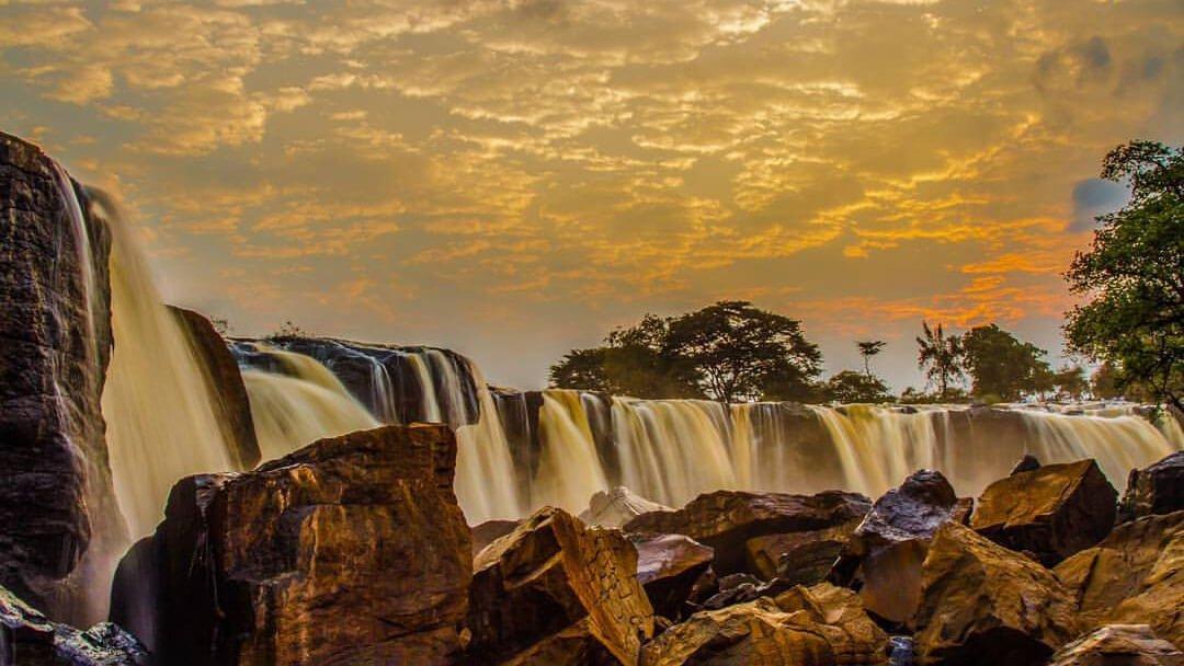 Sunset at Fourteen Falls, Thika - Waterfalls in Kenya