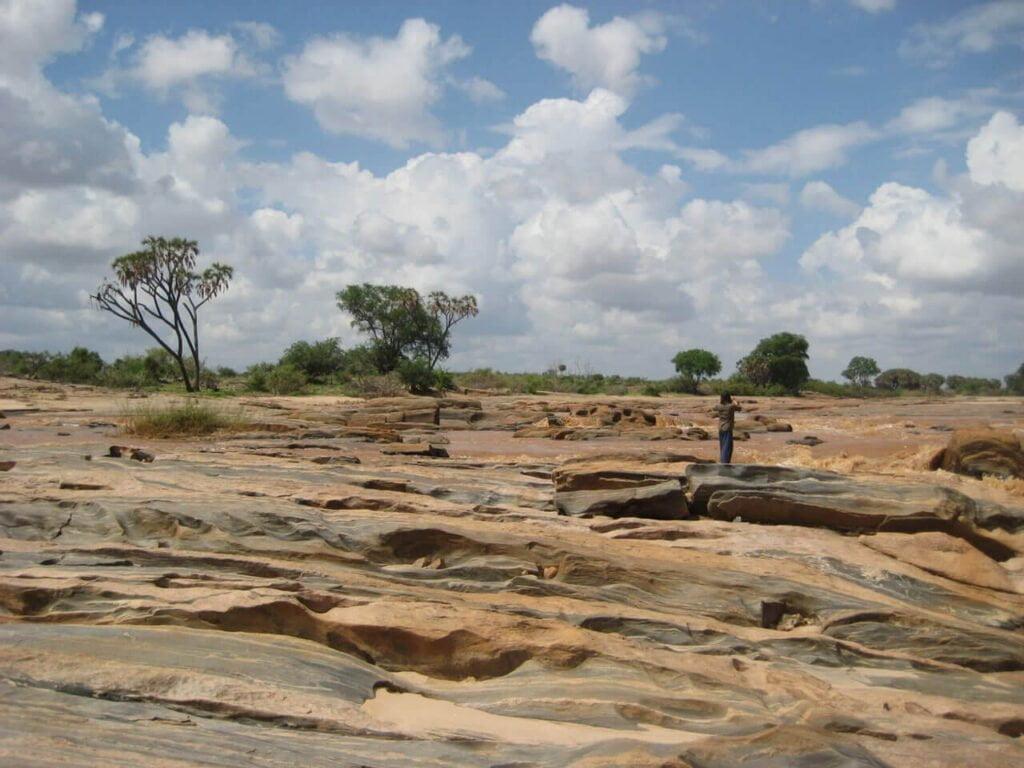 Lugard Falls Tsavo East National Park
