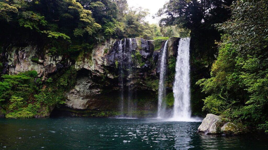 Waterfalls in Kenya