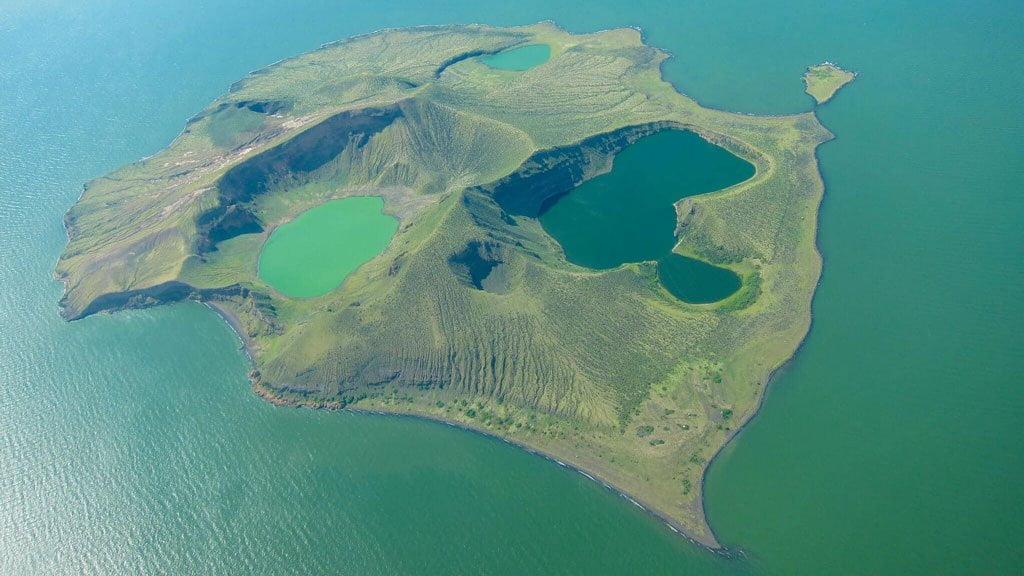 Lake Turkana Central Island