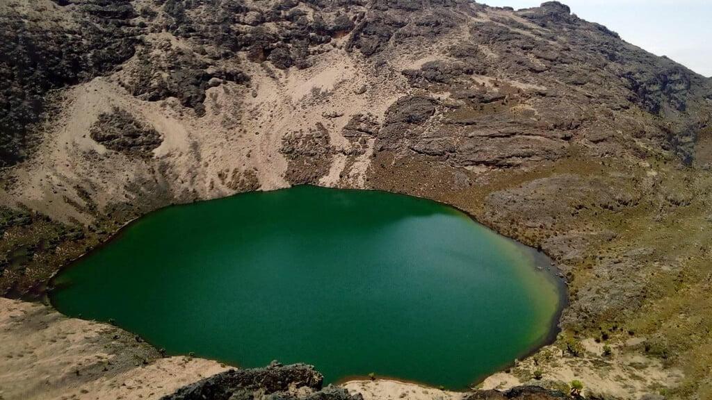 Hidden - Lakes and Tarns on Mount Kenya