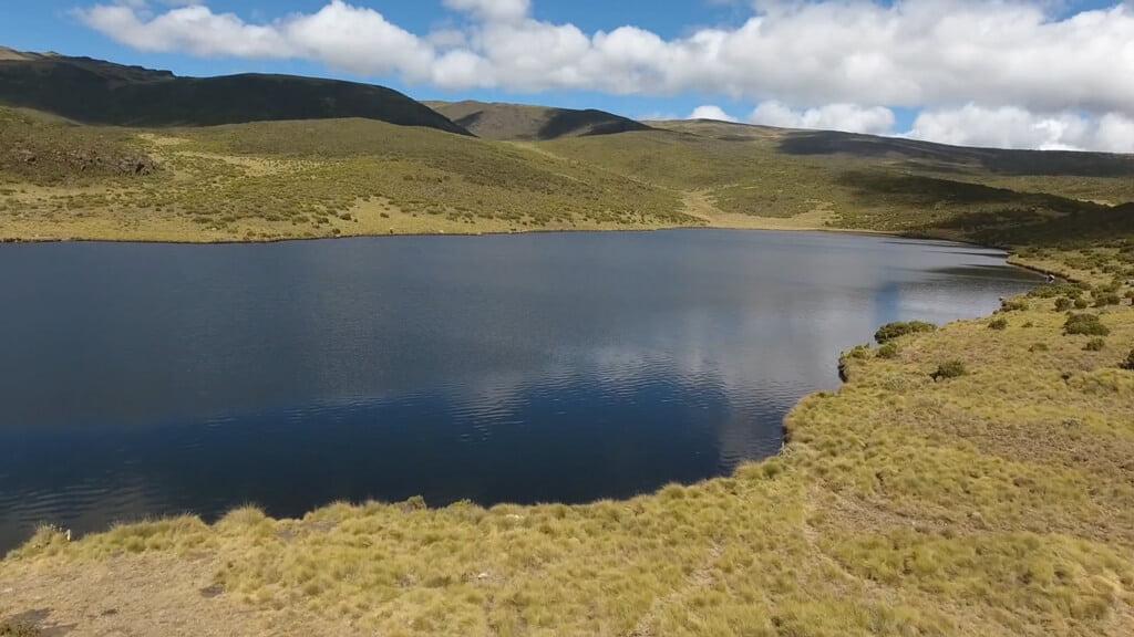 Lake Ellis on Mount Kenya - Lakes and Tarns on Mount Kenya